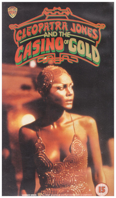 Cleopatra Jones And The Casino Of Gold VHS from Warner Home Video (S011431)