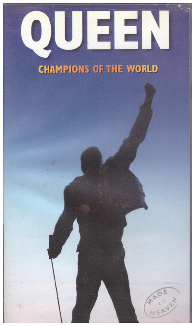 Queen: Champions Of The World VHS from Queen Films (4915053)