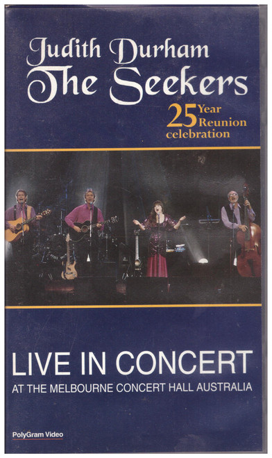 The Seekers: Live In Concert VHS from Polygram Video (6339803)