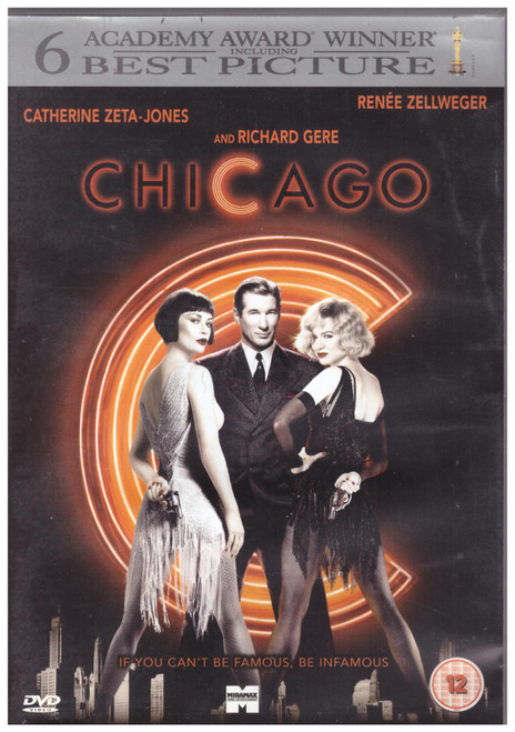 Chicago on DVD from Buena Vista Home Entertainment (Z1 D888758)