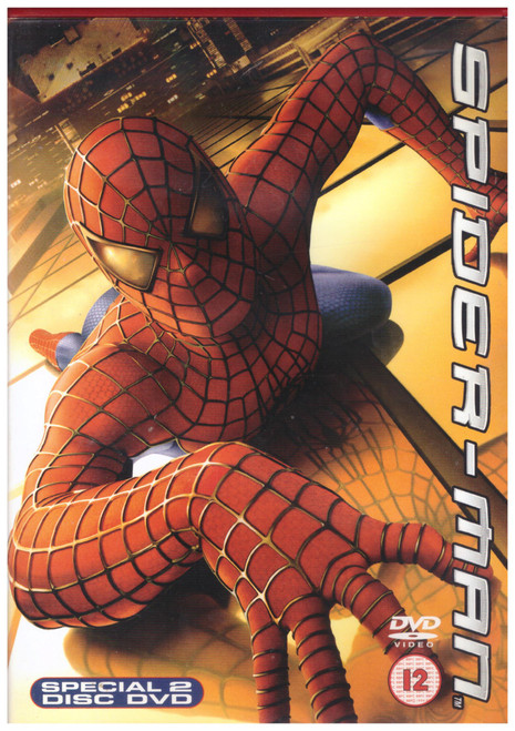 Spider-Man on DVD from Columbia Tristar Home Entertainment (CDT 32161)