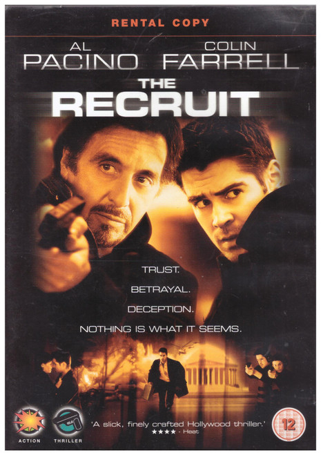The Recruit on DVD from Touchstone Home Entertainment (Z1R D888806)