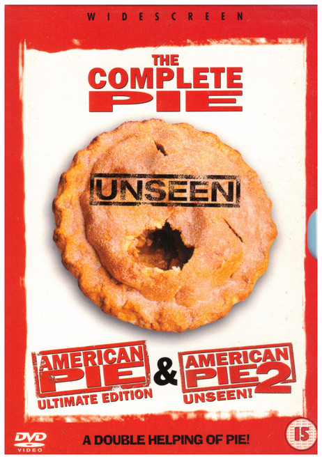American Pie Ultimate Edition & American Pie 2 Unseen! on DVD from Columbia Tristar Home Entertainment (UDR 90152)
