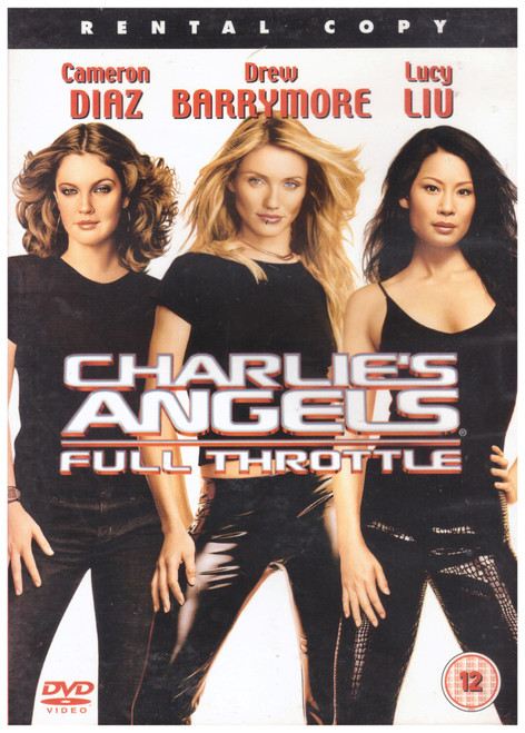 Charlie's Angels: Full Throttle on DVD from Columbia Tristar Home Entertainment (CDS 32712)