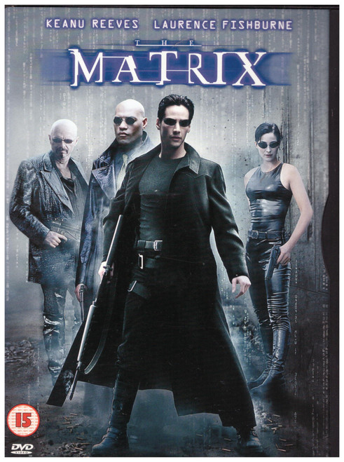 The Matrix on DVD from Warner Home Video (Z1 17737)