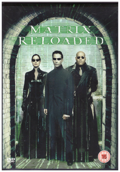 The Matrix Reloaded on DVD from Warner Home Video (Z1 28648)