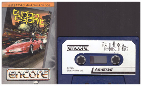 Turbo Esprit for Amstrad CPC from Encore