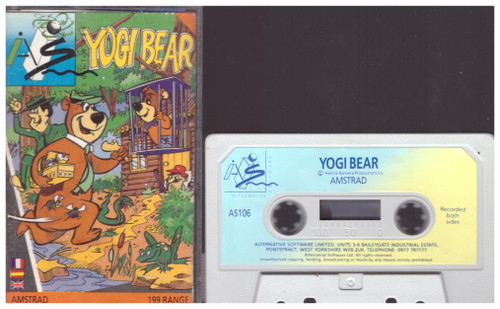 Yogi Bear for Amstrad CPC from Alternative Software (AS106)