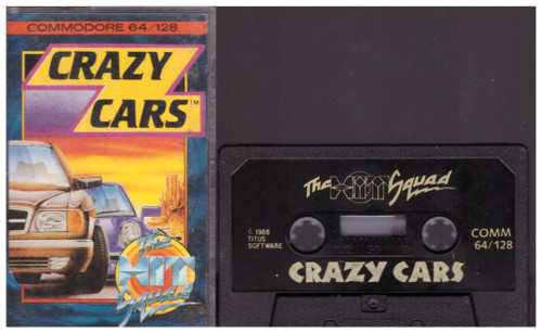 Crazy Cars for Commodore 64 from The Hit Squad