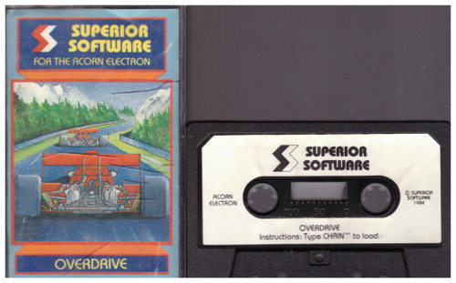Overdrive for Acorn Electron from Superior Software