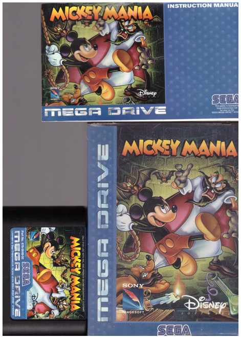 Mickey Mania for Sega Megadrive from Sony Imagesoft (T-93216-50)