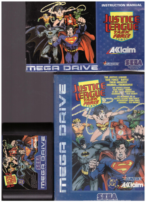 Justice League: Task Force for Sega Megadrive from Acclaim (T-81456-50)