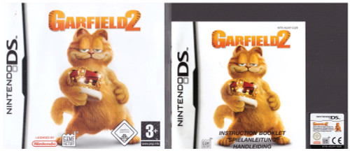 Garfield 2 for Nintendo DS from The Game Factory (NTR-AGVP-EUR)