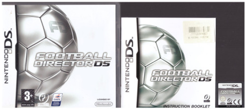 Football Director DS for Nintendo DS from Pinnacle Entertainment (NTR-CFFP-UKV)