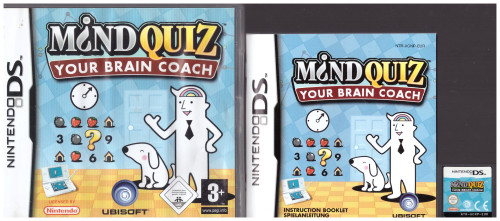 Mind Quiz: Your Brain Coach for Nintendo DS from Ubisoft (NTR-ACNP-EUR)