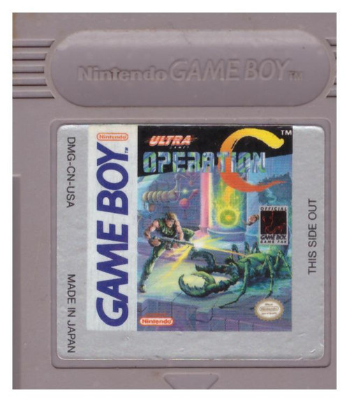 Operation C for Nintendo Gameboy from Ultra Games (DMG-CN-USA)