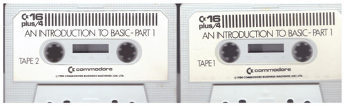 An Introduction To Basic Part 1 for Commodore 16/Plus 4 from Commodore