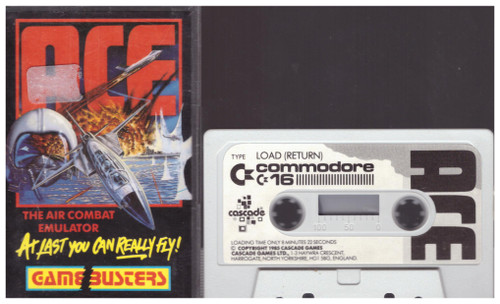 ACE for Commodore 16/Plus 4 from GameBusters