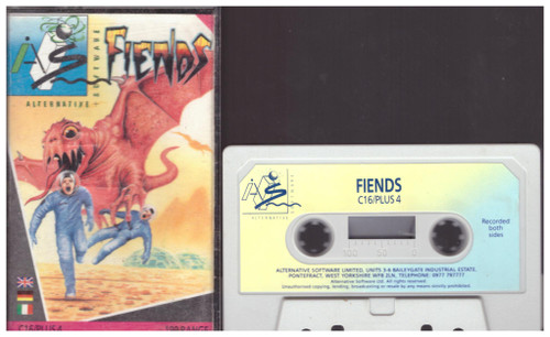 Fiends for Commodore 16/Plus 4 from Alternative Software (AS083)