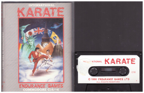 International Karate for Commodore 16/Plus 4 from Endurance Games (ECB 010)