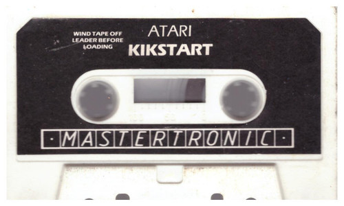 Kikstart for Atari 8-Bit Computers from Mastertronic