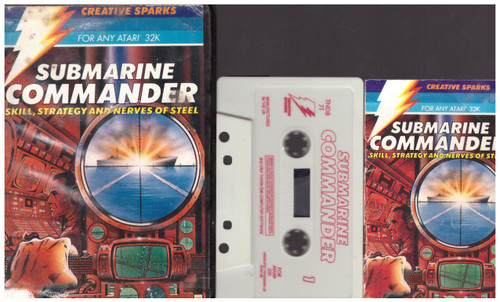 Submarine Commander for Atari 8-Bit Computers from Creative Sparks (TNDB 71)