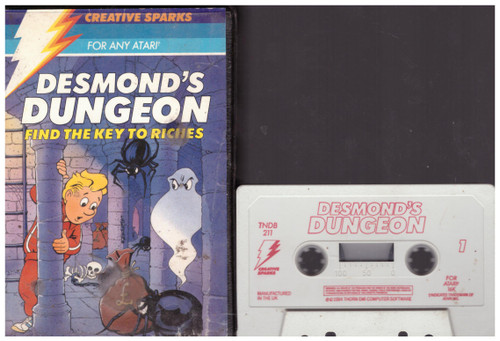 Desmond's Dungeon for Atari 8-Bit Computers from Creative Sparks (TNDB211)