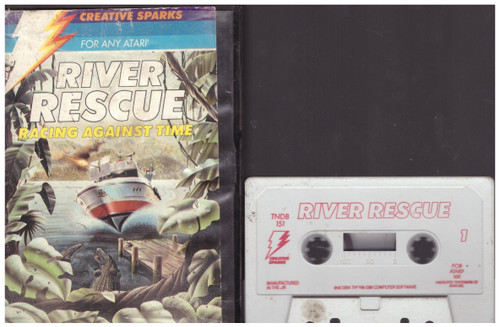 River Rescue for Atari 8-Bit Computers from Creative Sparks (TNDB 151)