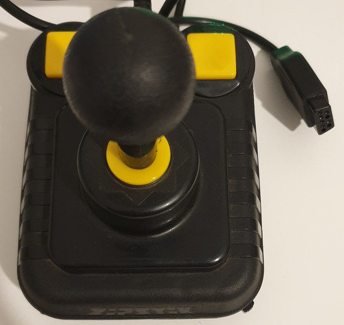 Zipstik Joystick for Atari/DB-9 Compatible Computers/Consoles