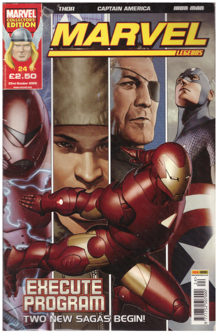Marvel Legends #24 Oct 08 from Marvel/Panini Comics UK