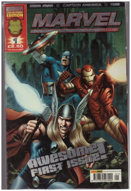 Marvel Legends #1 Jan 07 from Marvel/Panini Comics UK