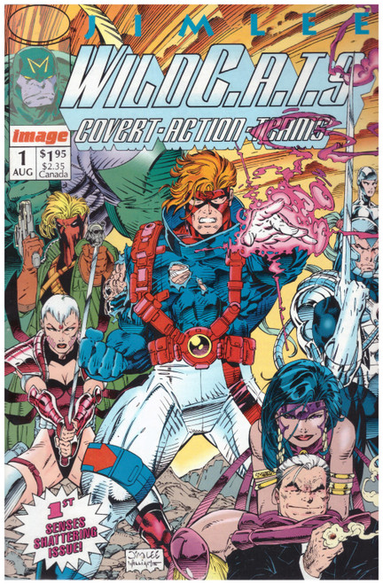 Wildcats #1 Aug 92 from Image Comics