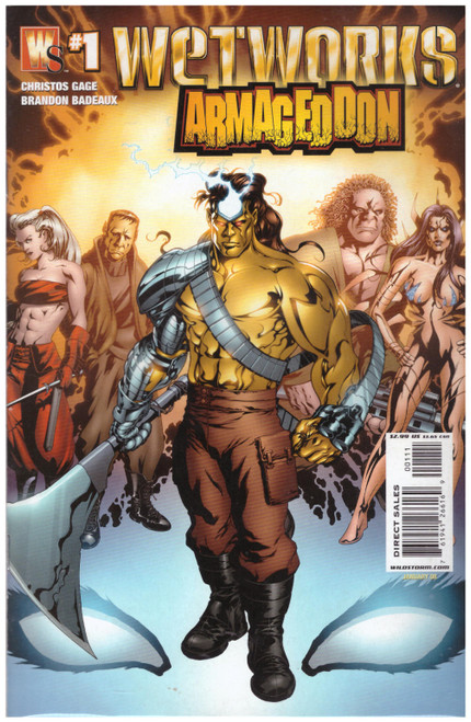 Wetworks Armageddon #1 Jan 08 from Wildstorm Comics