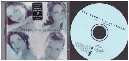 Talk On Corners Special Edition by The Corrs from Atlantic (7567-80917-2)