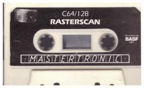 Rasterscan Tape Only for Commodore 64 from Mastertronic