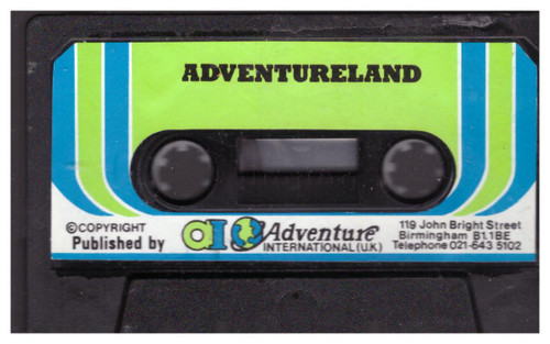 Adventureland Tape Only for Commodore 64 from Adventure International