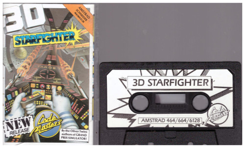 3D Starfighter for Amstrad CPC from CodeMasters (3059)