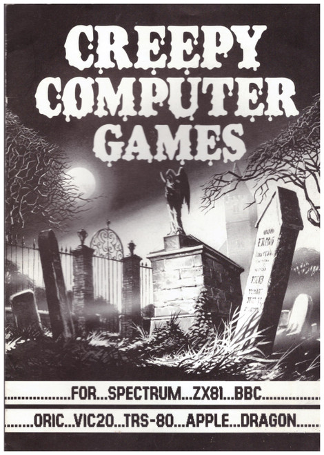 Creepy Computer Games Book from Scholastic