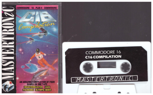 C16 Compilation for Commodore 16/Plus 4 from Mastertronic (2C 0255)