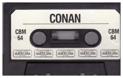 Conan Tape Only for Commodore 64 from Americana