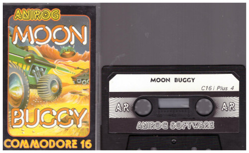 Moon Buggy for Commodore 16/Plus 4 from Anirog