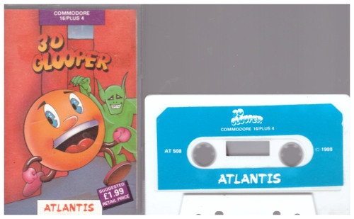 3D Glooper for Commodore 16/Plus 4 from Atlantis (AT 508)