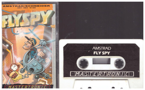 Flyspy for Amstrad CPC from Mastertronic (IA 0154)