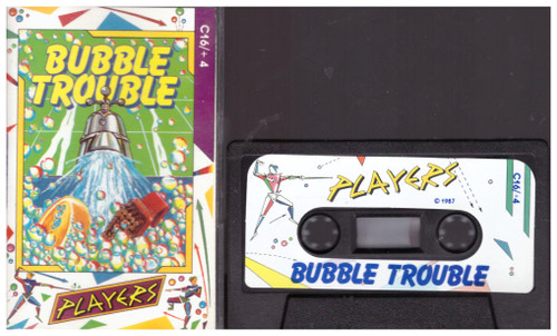 Bubble Trouble for Commodore 16/Plus 4 from Players