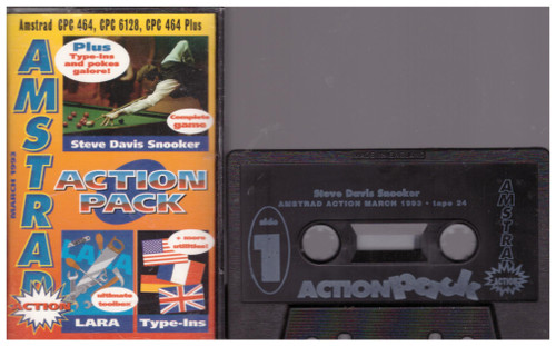 Amstrad Action 24 Mar 93 Covertape for Amstrad CPC