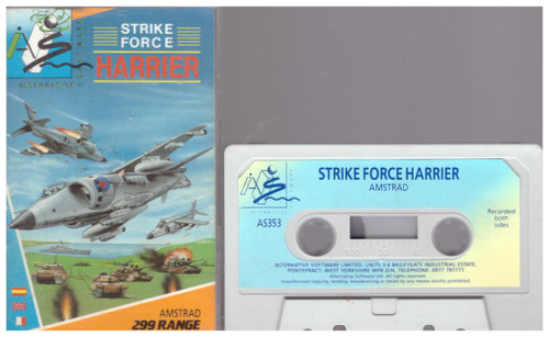 Strike Force Harrier for Amstrad CPC from Alternative Software (AS353)