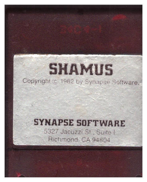 Shamus for Atari 8-Bit Computers from Synapse Software
