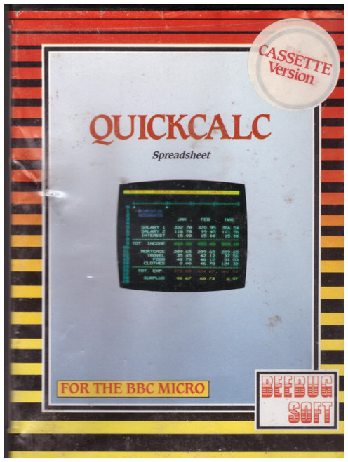 Quickcalc for BBC Micro Model B from Beebugsoft