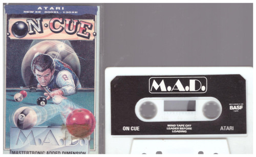 On Cue for Atari 8-Bit Computers from Mastertronic (IT 0197)