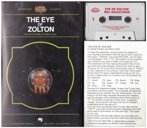 The Eye Of Zolton for BBC Micro/Acorn Electron from Brainstorm/Softek (BEA 1)